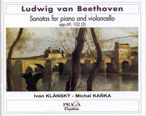 LUDWIG VAN BEETHOVEN (1770-1827) - SONATAS FOR PIANO AND VIOLONCELLO  Vol. 2 - Kanka, Klansky