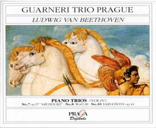 LUDWIG VAN BEETHOVEN (1770-1827) - PIANO TRIOS No.7 ARCHIDUKE Op.97, No.8 WoO.38, No.10 Op.44 - Guarneri Trio Prague