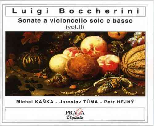 LUIGI BOCCHERINI (1743-1805)  - SONATAS CELLO AND CONTINUO (6) Nos.4,2b,5,13,18,15  - VOLUME 2 - Michal Kanka