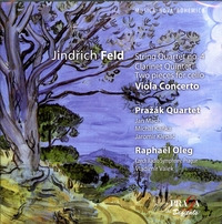 JINDRICH FELD (1925- 2007) - QUARTET NO 4 - CLARINET QUINTET - CELLO & PIANO - VIOLA CONCERTO