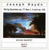 "JOSEPH HAYDN (1732-1809) - STRING QUARTETS Op.77 No.1, No.2 - STRING QUARTET ""UNFINISHED"" Op.103 - Kocian Quartet"