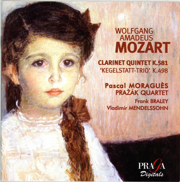 MOZART (1756-1791) : CHAMBER WORKS WITH CLARINET - Prazak ...
