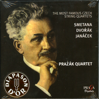 THE MOST FAMOUS CZECH STRING QUARTETS - PRAŽÁK Quartet