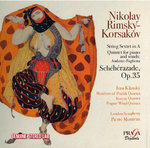 N.Rimsky-Korsakov (1844-1908) Exercises in fugue and counterpoint, in preparation of Scheherazade