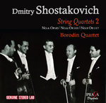 Shostakovich and the Borodin Quartet in Moscow vol.II