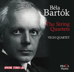 Béla BARTÓK (1881-1945) :  THE STRING QUARTETS - Budapest Quartet 1954 remastered