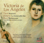 Victoria de los Angeles in Paris (1962-3) : Fauré, Debussy & Ravel