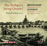 The Budapest String Quartet in Washington (1959-1961): Mendelssohn & Schumann