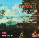 The Budapest String Quartet plays Mozart late String Quartets (Nos 14-23)