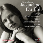 remembering Jacqueline Du Pré : cello concerti by Haydn, Delius & Elgar