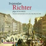 Sviatoslav RICHTER plays SCHUBERT PIANO SONATAS D.575, 625, 784, 894, 915, 958